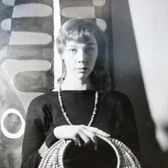 Ylva Källström-Eklund. Photographer and year unknown (privately owned image)