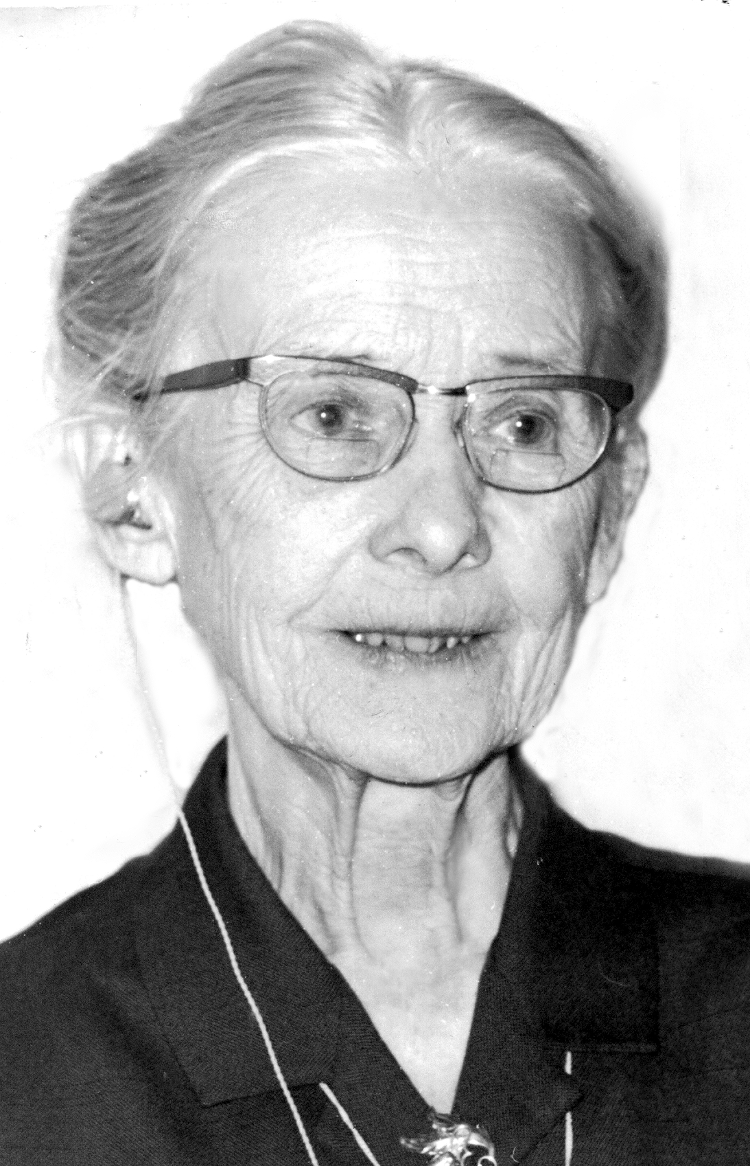 Elsa Karlsson, photographer and year unknown. Örebromissionens arkiv, ArkivCentrum Örebro län