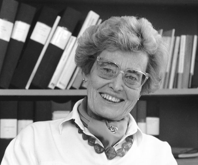 Marianne Kärrholm, circa 1980s. Photographer unknown (Chalmers University of Technology)