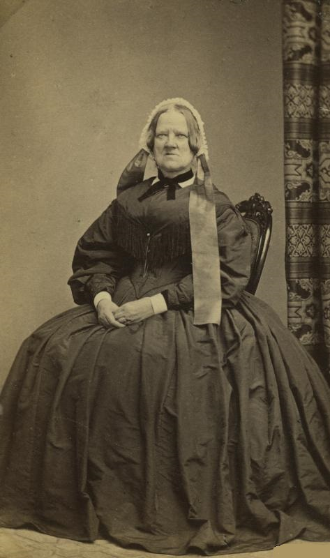Nelly Krook, circa 1860s. Photographer unknown. Helsingborgs museisamling (3068-2014)