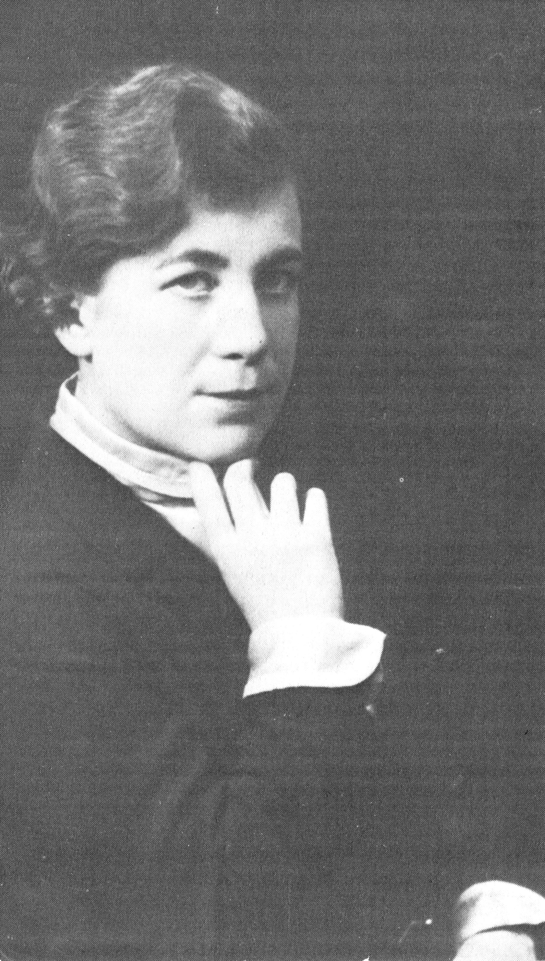 Agnes von Krusenstjerna. Fotograf och år okänt. Bildkälla: Wikimedia Commons