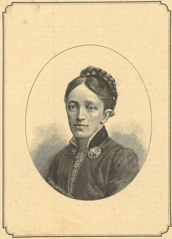Thora Kulle in Idun nr 24, 1890. Artist unknown (KvinnSam, Gothenburg University Library)
