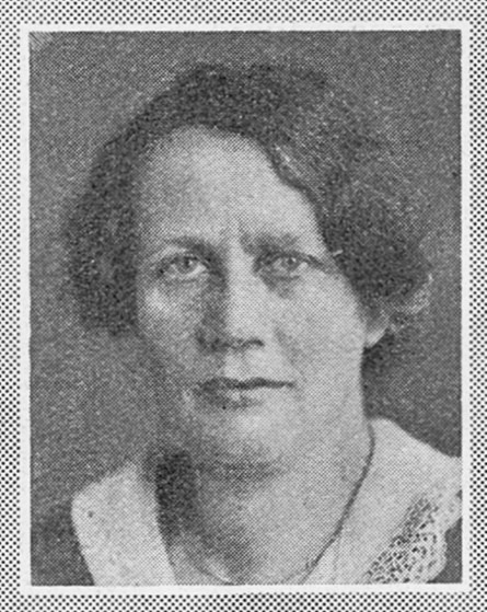 Lillie Landgren. Photographer and year unknown. Image source: Svenskt Porträttarkiv (CC-BY-SA 4.0)