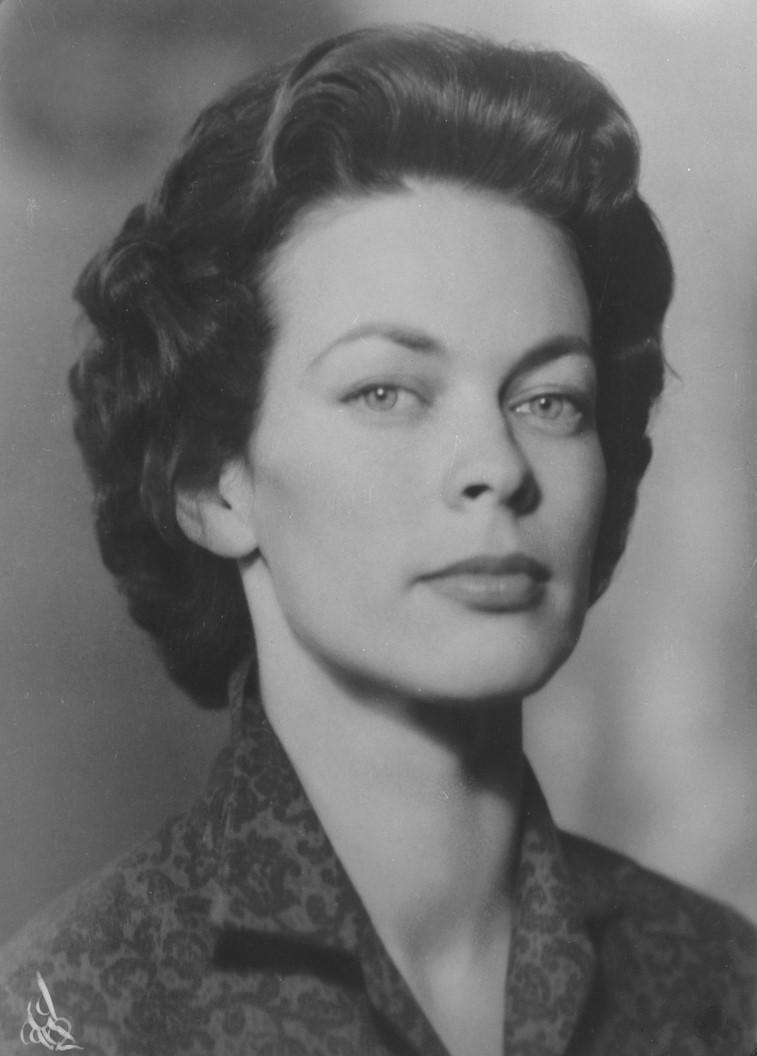 Käbi Laretei, 1958. Photo: Carl Larssons Fotografiska Ateljé AB. County Museum of Gävleborg (XLM.CLP000380-1 - cropped)