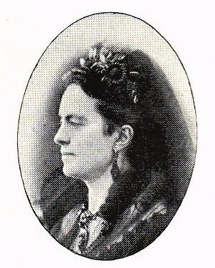 Adelaïde Leuhusen. Photographer and year unknown. Image source: Svenskt Porträttarkiv (CC-BY-SA 4.0)