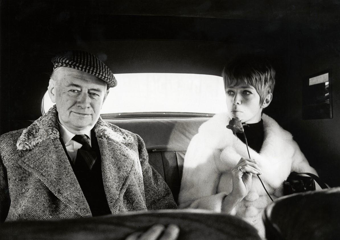 Anita Lindblom and Erik Zetterström (Kar de Mumma), year unknown. Photo: Gösta Clase (1920-2001). Nordiska museet, NMA.0052790