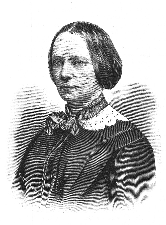 Amalia Lindegren depicted in Idun nr 2, 1892. Wood engraving by Gunnar Forssell. Image source: Wikimedia Commons