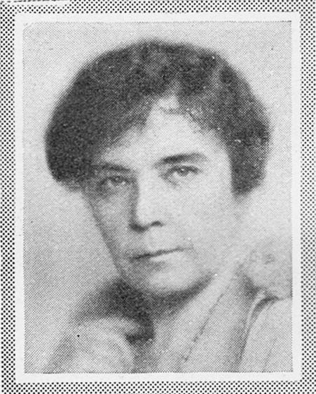 Hilda Lindstedt, circa 1930s. Photographer and year unknown. Image source: Svenskt Porträttarkiv (CC-BY-SA 4.0)