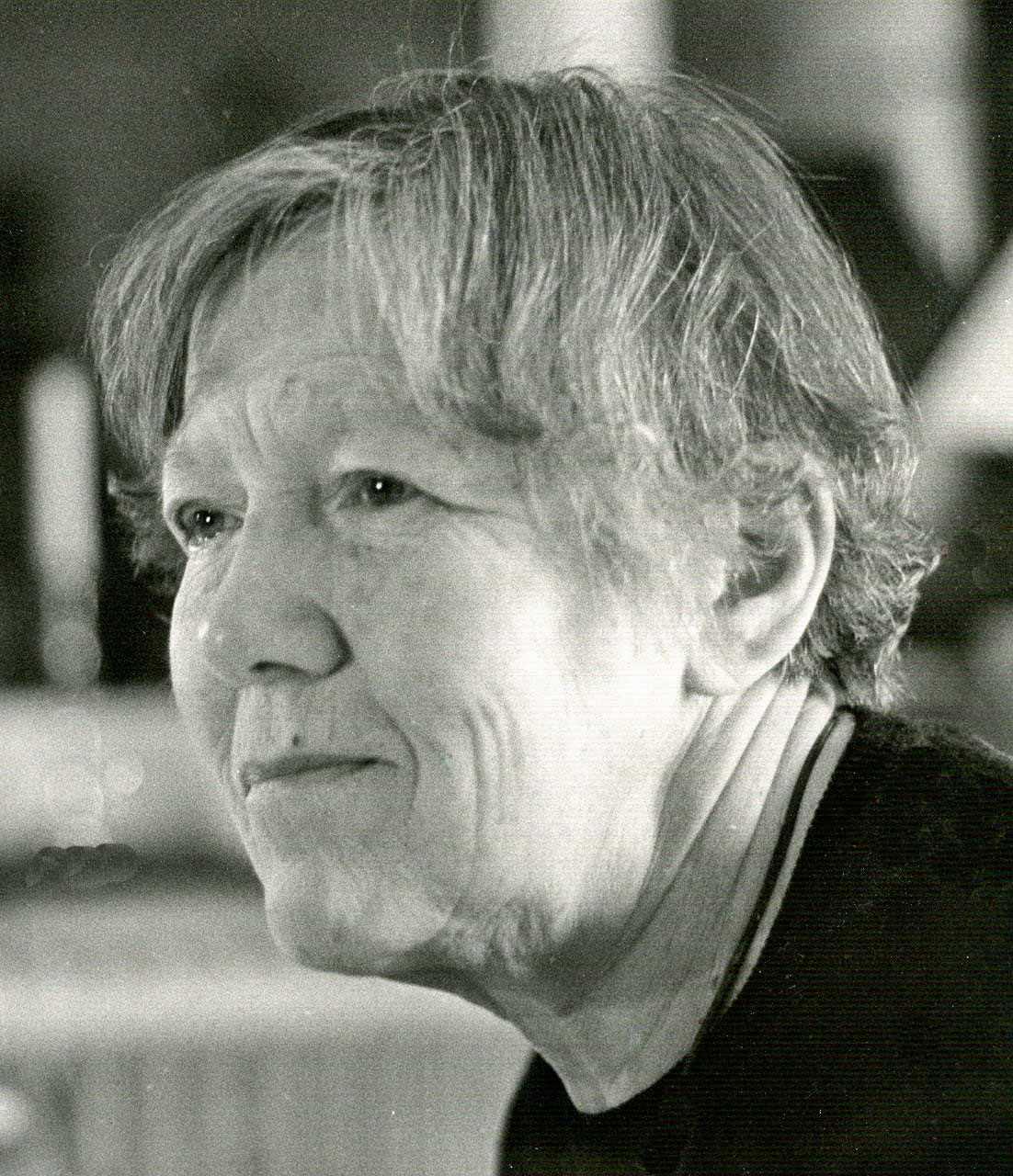 Marianne Lindstén, cirka 1960-tal. Fotograf okänd (bild i privat ägo)