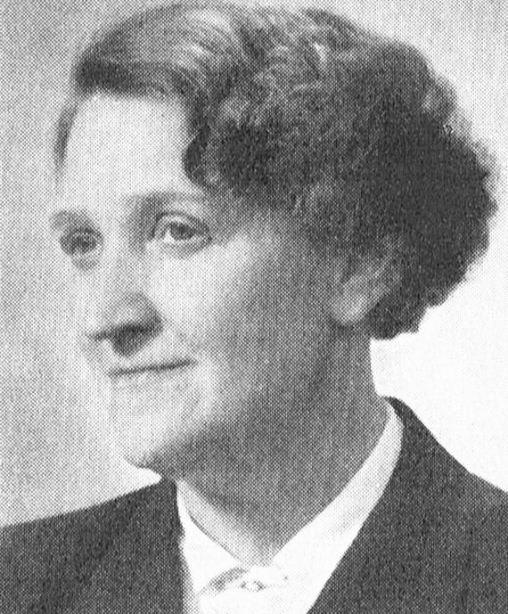 Jane Lundblad. Fotograf och år okänt. Bildkälla: Svenskt Porträttarkiv (CC-BY-NC-SA 4.0; beskuren)