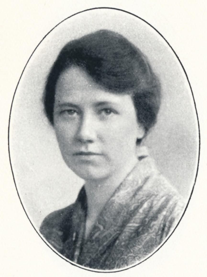 Ruth Nathorst i Svenska kyrkans missionsarbetare 1876-1916: porträttalbum, Svenska kyrkans missionsstyrelse, 1917. Fotograf okänd. Bildkälla: Svenskt Porträttarkiv (CC-BY-SA 4.0)