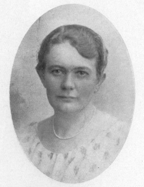 Elisabeth Nilsson i Porträttgalleri från Malmöhus län, Skånetryckeriet, Malmö, 1930. Fotograf okänd