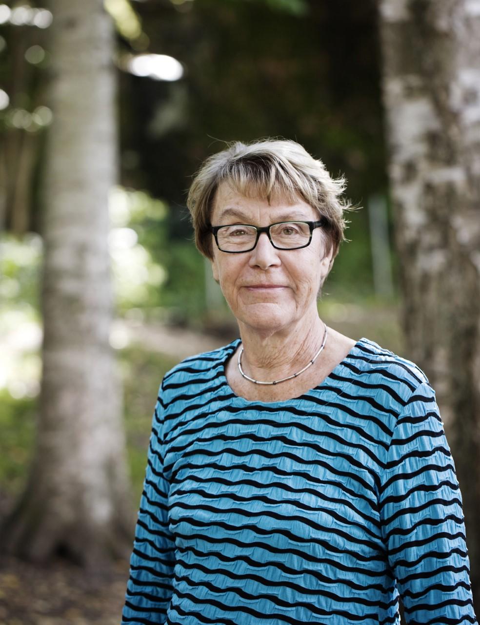 Kerstin Nordenstam, år okänt. Foto: Svante Örnberg