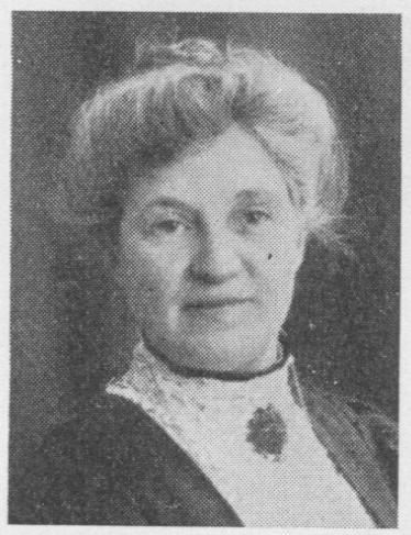 Hanna Nordström. Photographer and year unknown. Image source: Svenskt Porträttarkiv (CC-BY-SA 4.0)