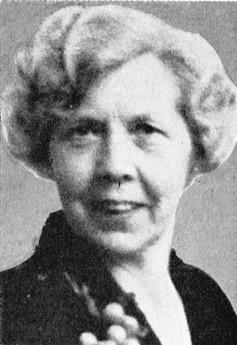 Margareta Nordström. Photographer and year unknown. Image source: Svenskt Porträttarkiv (CC-BY-SA 4.0)