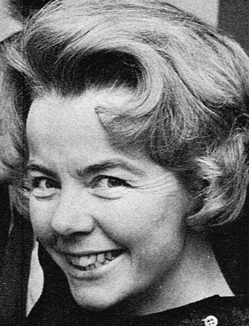 Camilla Odhnoff. Photographer and year unknown. Image source: Svenskt Porträttarkiv (CC-BY-SA 4.0)