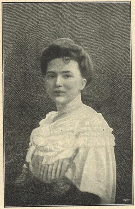 Märtha Ohlson in Idun nr. 9, 1905. Photo: H Hamnqvist (Gothenburg University Library)