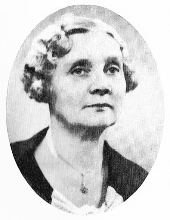 Betty Olsson. Fotograf och år okänt. Bildkälla: Svenskt Porträttarkiv (CC-BY-SA 4.0)