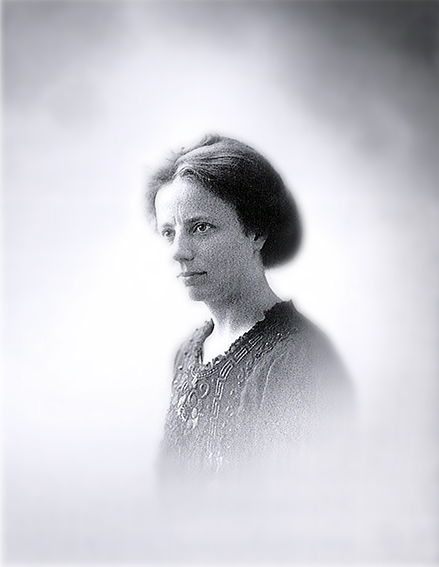 Elise Ottesen-Jensen, 1910 (Universitetsbiblioteket, Trondheim)