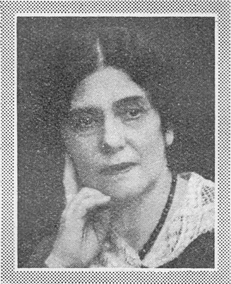 Gerda Palm in Idun 1931. Photographer unknown. Image source: Svenskt Porträttarkiv (CC-BY-SA 4.0)
