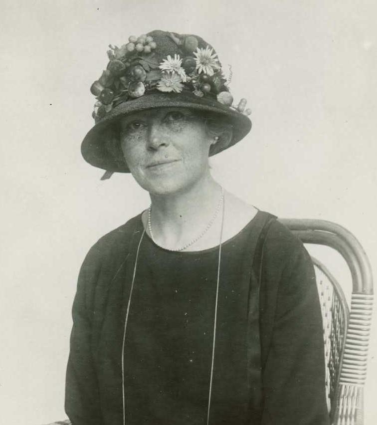 Ellen Palmstierna, fotograf och år okänt (KvinnSam, Göteborgs universitetsbibliotek)