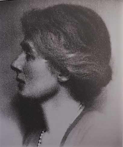 Hilda Pennington-Mellor Munthe. Fotograf och år okänt (Munthes Hildasholms samlingar)