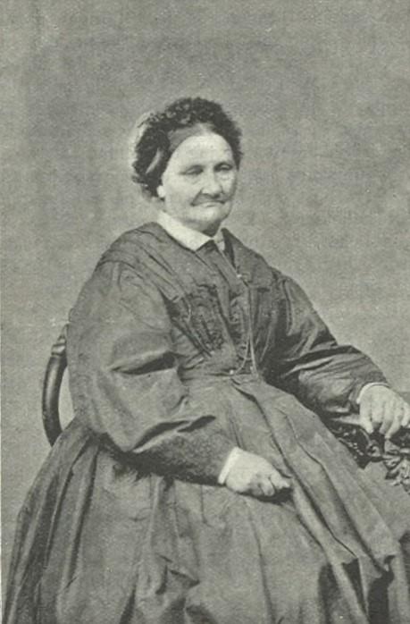 Johanna Peterson i Idun nr 52, 1899. Fotograf okänd (KvinnSam, Göteborgs universitetsbibliotek)