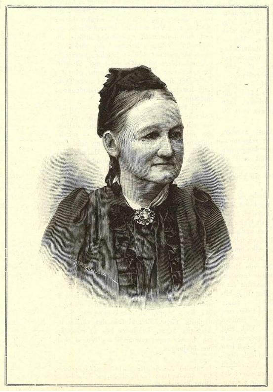 Hilda Petersson i Idun nr 36, 1892. Fotograf okänd (KvinnSam, Göteborgs universitetsbibliotek)