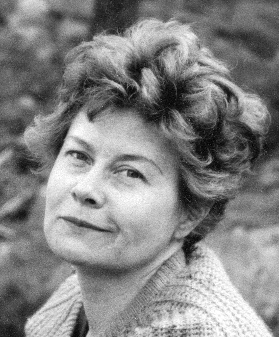 Ulla Poppius, cirka 1960. Foto: Hans Poppius (Wikimedia Commons, Cerrito)
