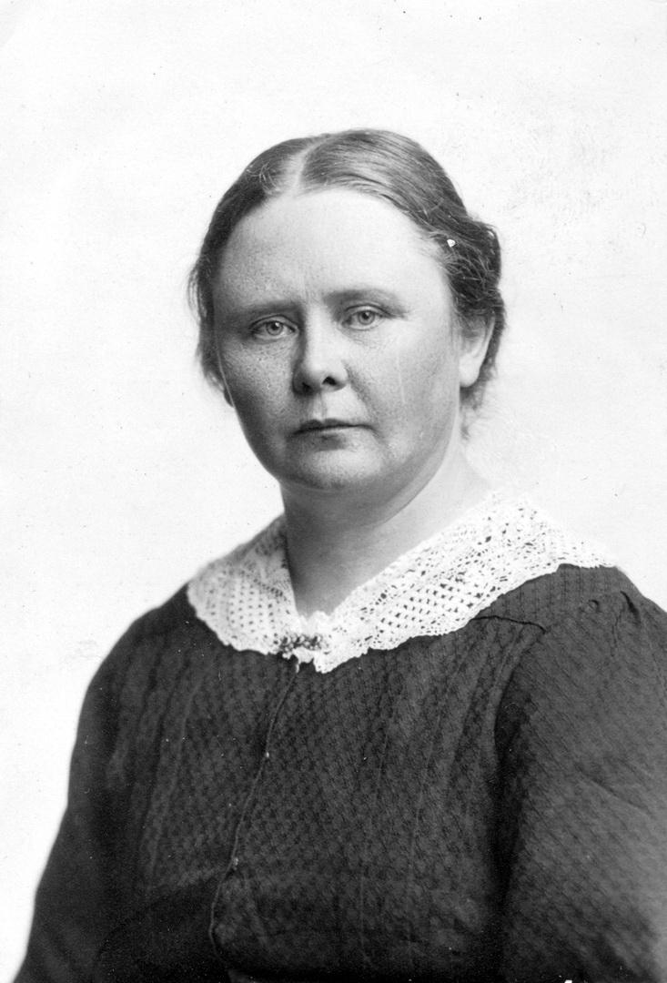 Maria Qvist, 1936. Photographer unknown. Blekinge museum (Blm E 02387)