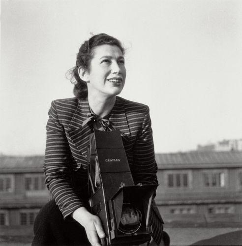 Anna Riwkin-Brick ca 1945 (© Moderna museet)