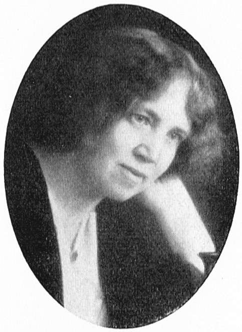 Anna-Clara Romanus Alfvén. Fotograf och år okänt. Bildkälla: Svenskt Porträttarkiv (CC-BY-SA 4.0)