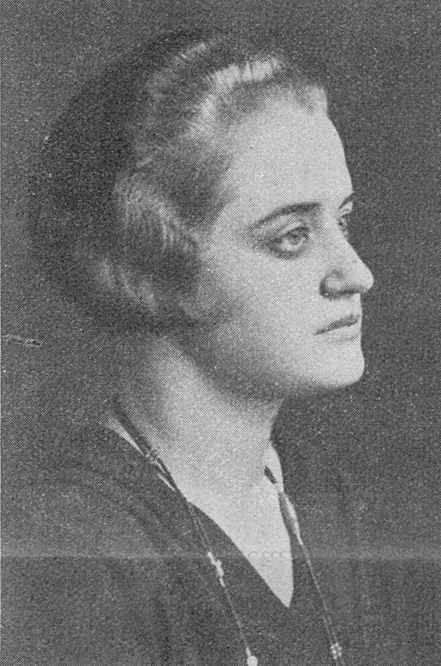 Kajsa Rootzén in Idun, 1930. Photographer unknown. Image source: Svenskt Porträttarkiv (CC-BY-SA 4.0)