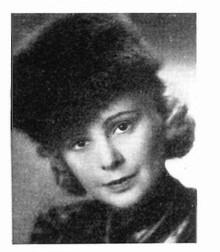 Birgit Rosengren. Photographer and year unknown. Image source: Svenskt Porträttarkiv (CC-BY-SA 4.0)