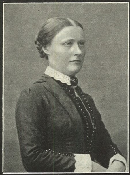 Alida Rossander in Idun nr 50, 1909. Photographer unknown (KvinnSam, Gothenburg University Library)