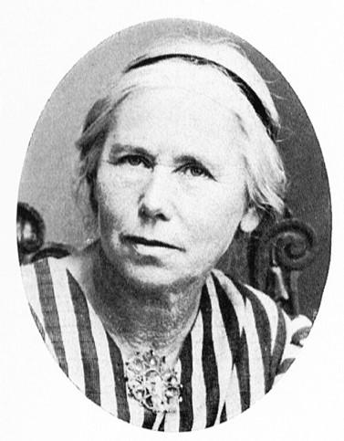 Anna Sahlström. Fotograf och år okänt. Bildkälla: Svenskt Porträttarkiv (CC-BY-NC-SA 4.0)
