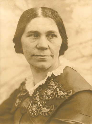 Ida Nilsson. Fotograf och år okänt (Sahlströmsgården)