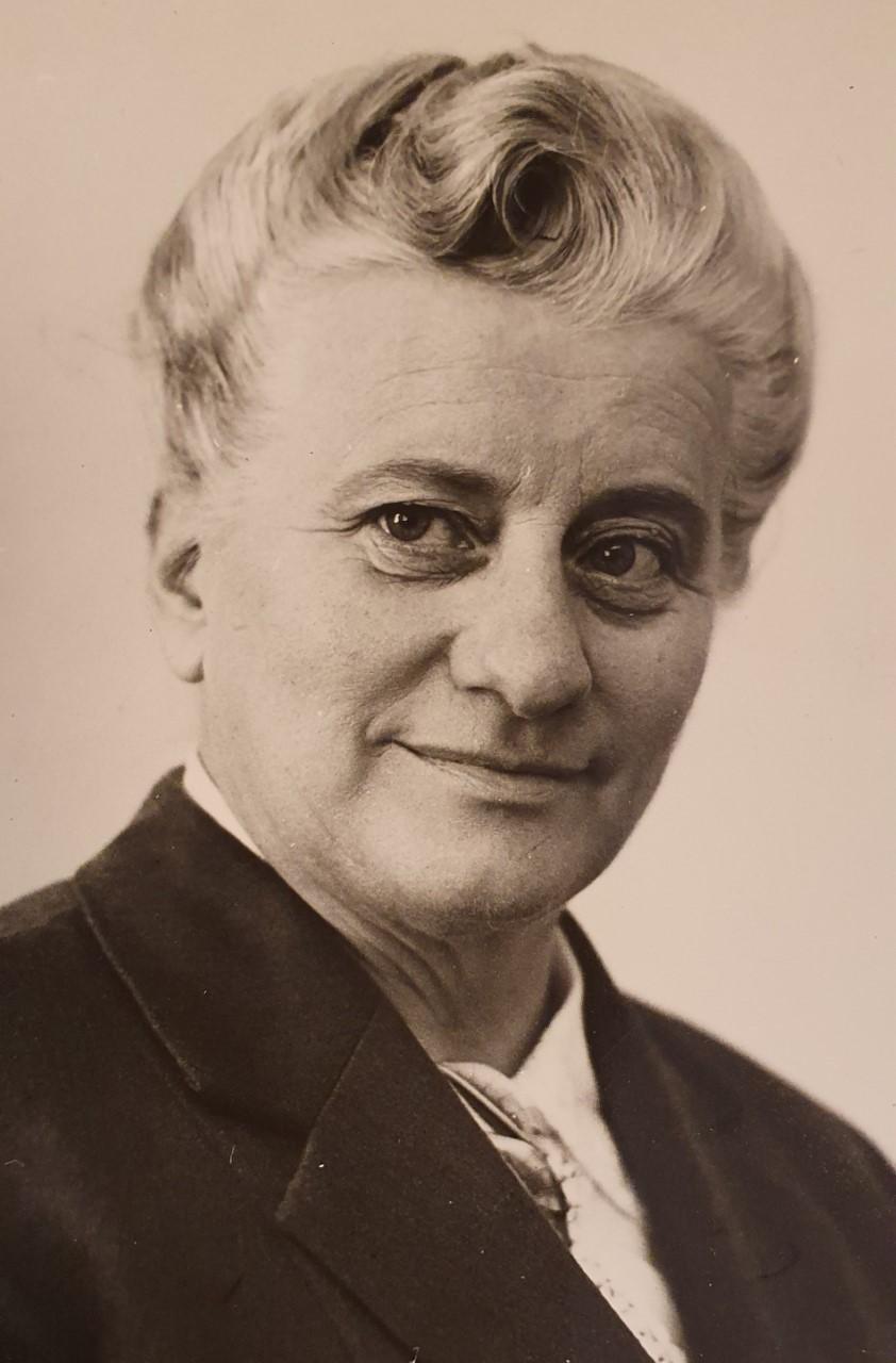 Ragnhild Sandström, year unknown. Photo: Västerbottens-Kuriren
