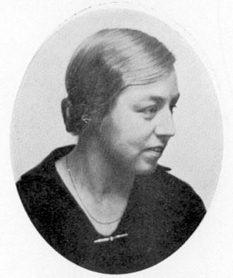 Brita Skottsberg Åhman. Fotograf och år okänt. Bildkälla: Svenskt Porträttarkiv (CC-BY-SA 4.0)