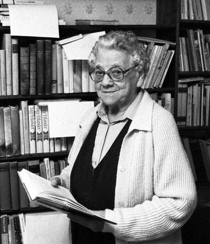Sofia Spångberg, year unknown. Photo: Robert Sandström, Värmlands Folkblads arkiv (VF/ARKIV)