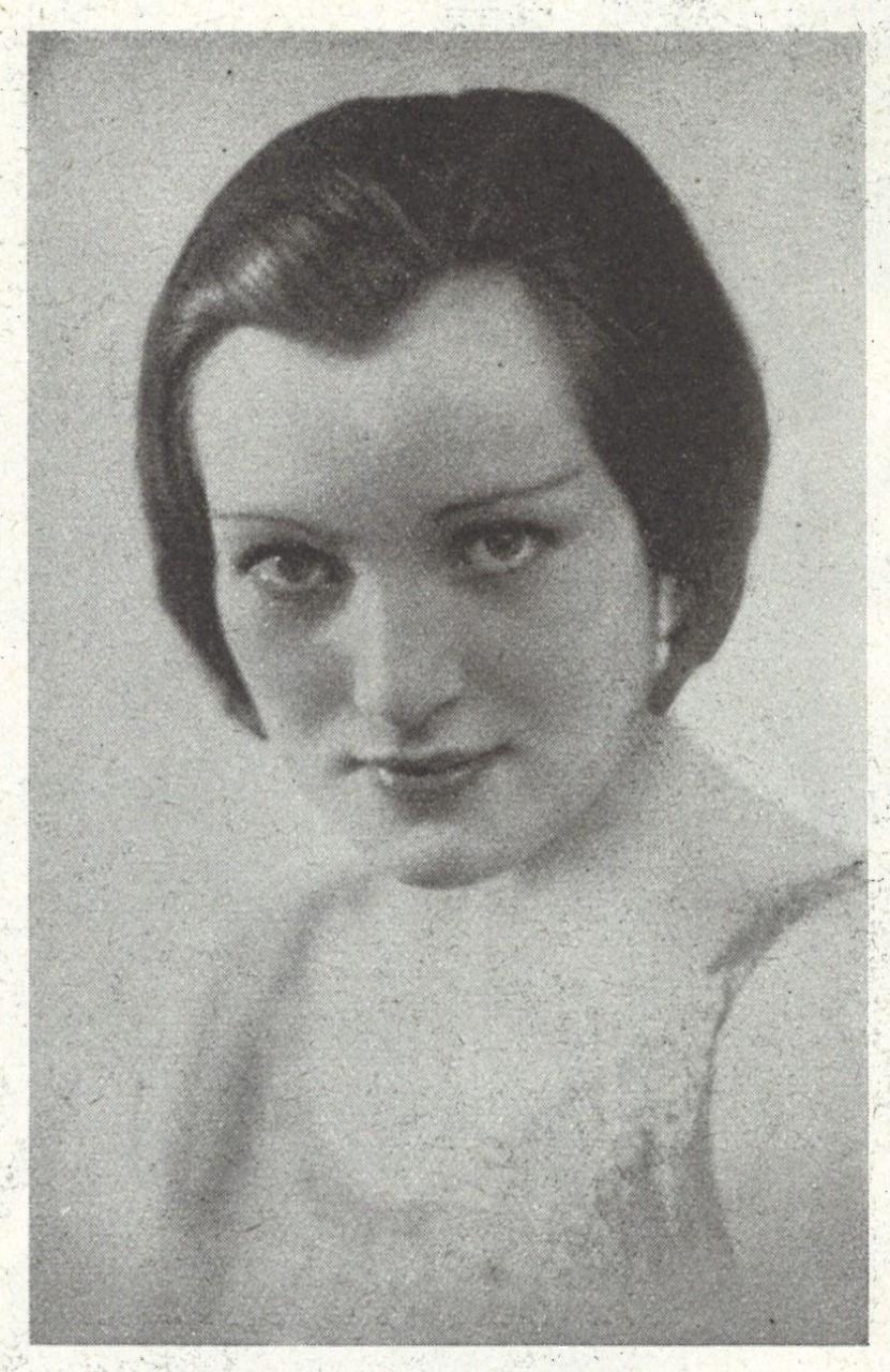 Lizzy Stein in the magazine Våra nöjen, nr. 24, 1932. Photographer unknown