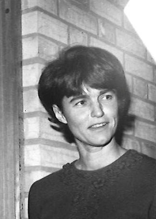 Elsa-Brita Stjernberg, 1965. Photographer unknown (privately owned image)