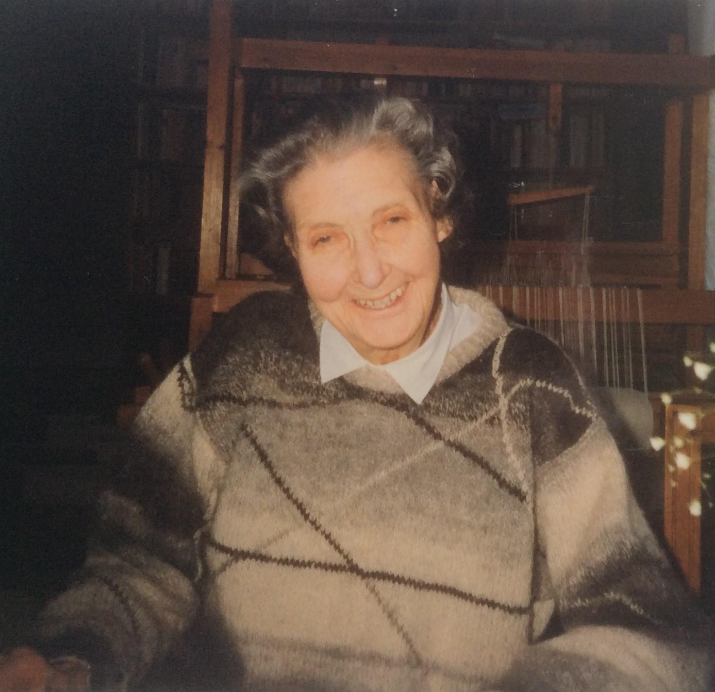 Karin Stolpe. Fotograf och år okänt (bild i privat ägo)