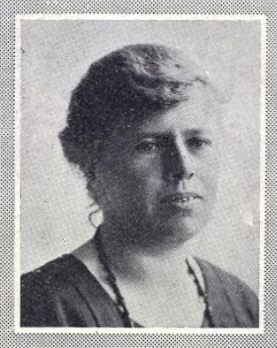 Gerda Strömberg. Fotograf och år okänt. Bildkälla: Svenskt Porträttarkiv (CC-BY-SA 4.0)
