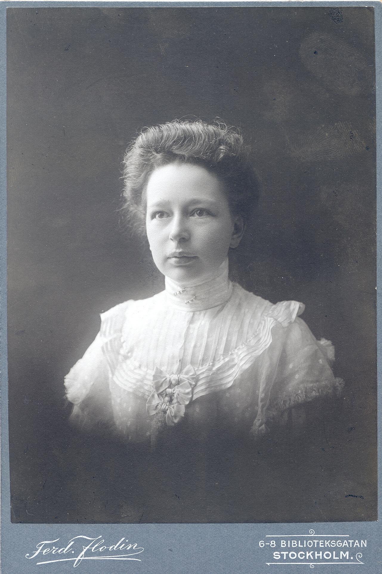 Elisabeth Tamm (KvinnSam, Göteborgs universitetsbibliotek)