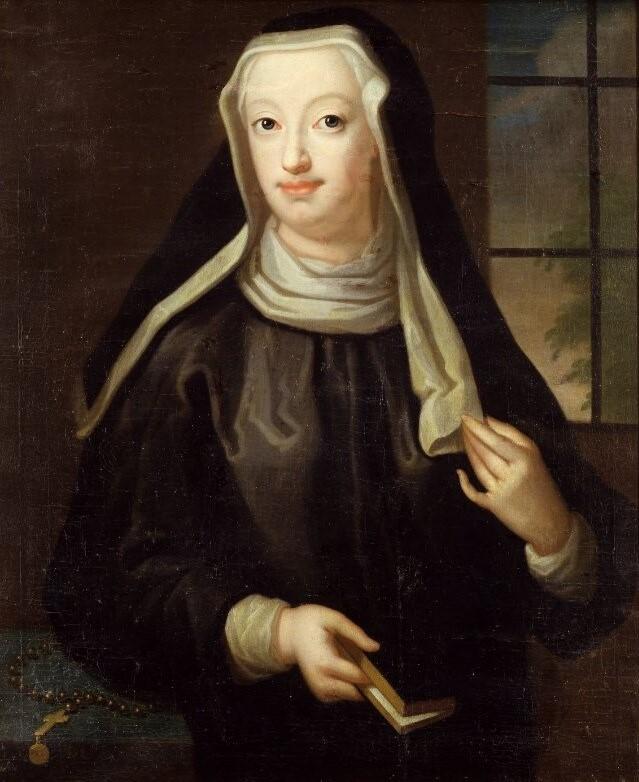 Hedvig Taube. Porträtt (olja på duk) av Lorens Pasch d.ä. (1702-1766), år okänt. Nationalmuseum (NMGrh 565)