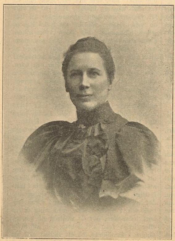 Alice Tegnér in Idun nr 2, 1896. Photographer unknown (Gothenburg University Library)