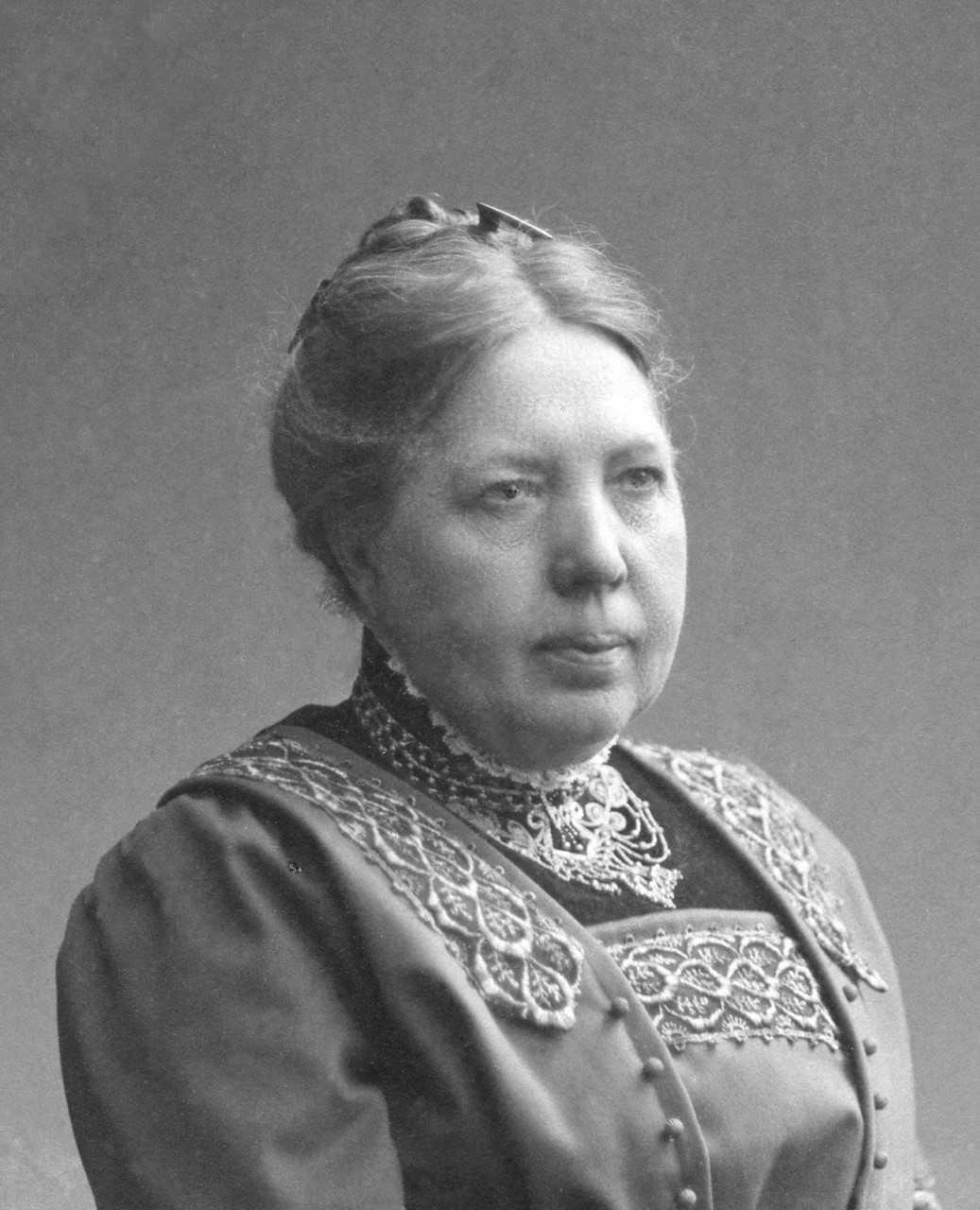 Ida Telland. Photographer and year unknown (Lindesbergs kulturhistoriska arkiv)