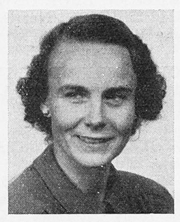 Karin Thunberg Arfwidsson in Sveriges Motorfolk 1954, Skövde: Stokirks bokind, 1954. Image source: Svenskt Porträttarkiv (CC-BY-NC-SA 4.0)