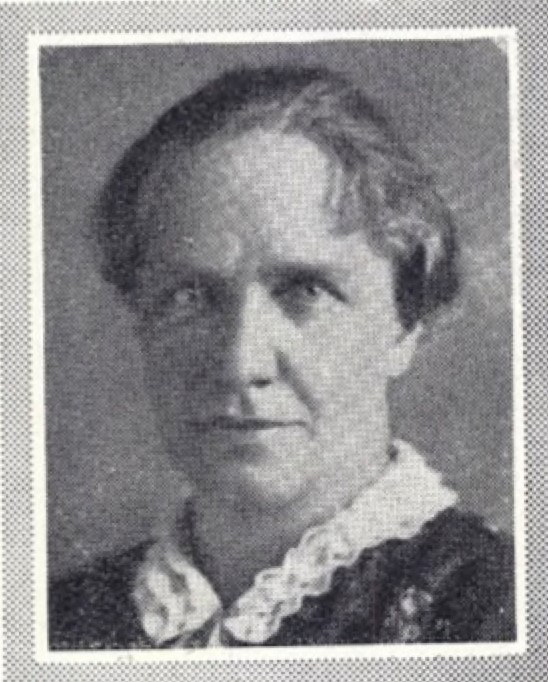 Anna Vogel, cirka 1927. Fotograf okänd. Bildkälla: Svenskt Porträttarkiv (CC-BY-SA 4.0)